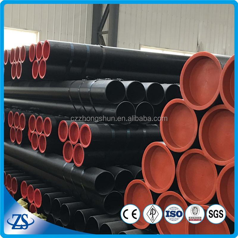 ASME Standard sa192 sch40 black painted hot rolled boiler pipe for sugar mill