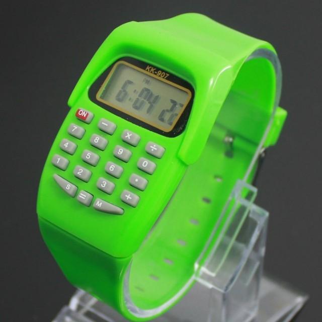 Cheap price wholesale china calculator watch children's birthday gift function student watch