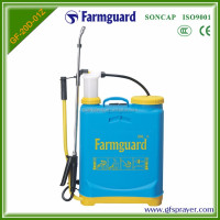 2016 hot sale 20L Manual Knapsack Sprayer High reliable PP Plastic Tank for AGRO Protect and Pest control