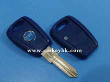 High quality Fiat 1 button remote car key blankcar key cover, key blank wholesale and retail
