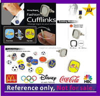 New product Fashion changeable magnetic cufflinks