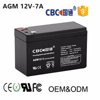 12V7AH Maintenance Free and Seal Type Solar Lead Acid Storage Battery for Solar System