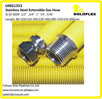 Corrugated Stainless Steel Flexible Gas Hose