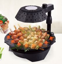 photos of papa's soul food kitchen bbq(LY-005),5 class temperature Controlling Mode and Round Shape BBQ grill