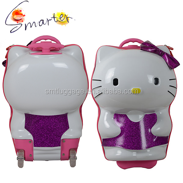 Hello Kitty ABS kids mini rolling suitcase