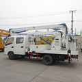 China suppliers 14m Foton aerial platforem truck price