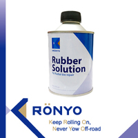 KRONYO rubber solution vulcanizing rubber cement rubber glue for tires