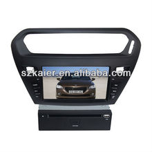 car doubin din dvd player for Peugeot 301
