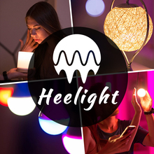 Heelight:2018 new innovative gift Smart voice control 16M colors E27 bulb led smart bulb as creative gift