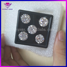 Loose VVS Colorless Created Moissanite Gems Natural White Diamond for Jewelry