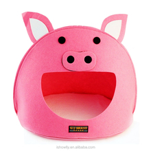 Luxury Pig Mouth Pet Dog Cat House Removable & Washable Dog Bed Kennel