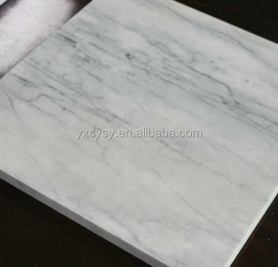 High Quality A Grade Floor White Marble Calacatta Tile