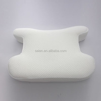 private label neck gel human shaped pillow