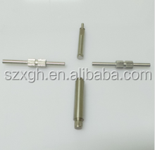 made in China Dia 10mm*150mm knurling precision cnc machining spline shaft