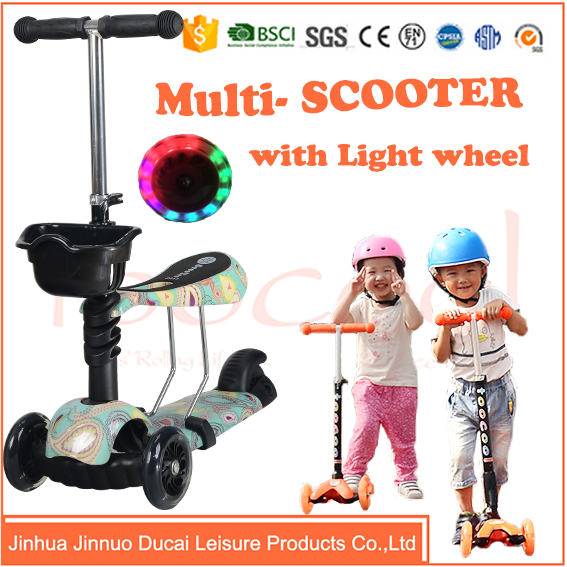 Chinese suppliers kick doublr scooter for kids TK03A