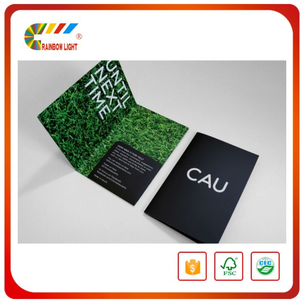 Cheap price wholesale handmade paper cardboard a3 file folder