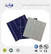 17.4% efficiency A grade silicon poly solar cell made in Taiwan