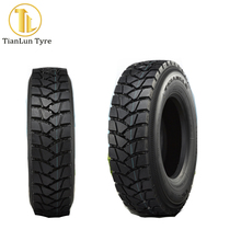 Tianlun brand factory supply rubber container load truck tires