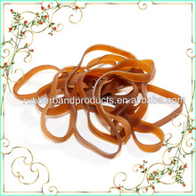 Extra Large 100% Rubber Natural Rubber Band , Wide Rubber Band For Agriculture Industrial