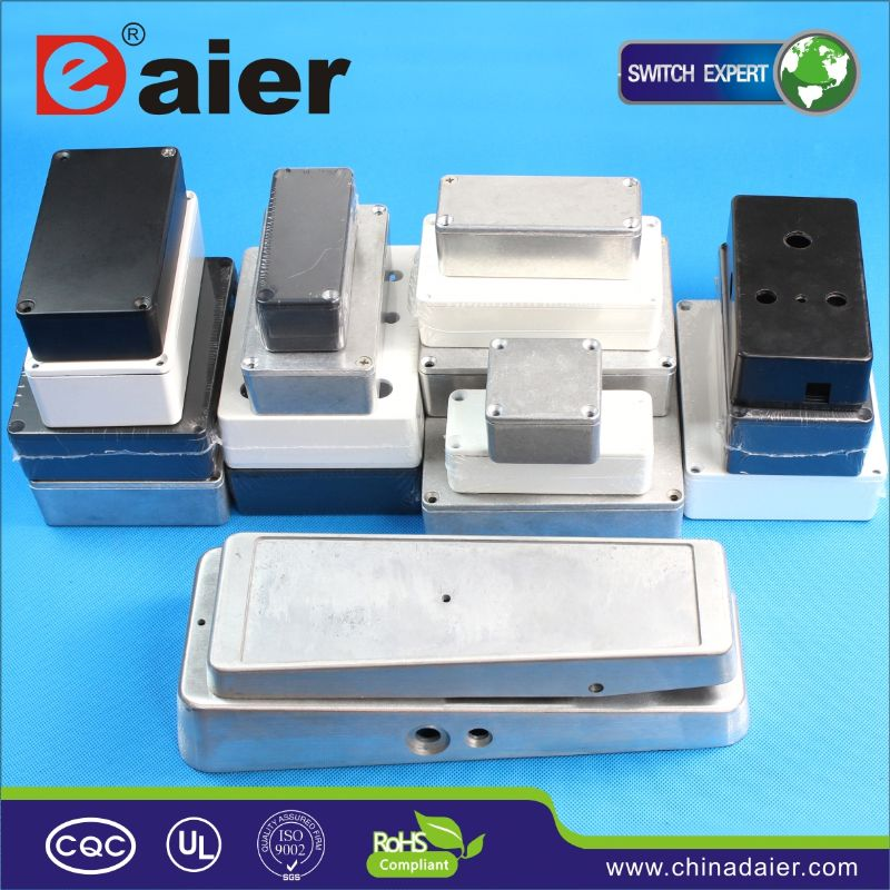 DAIER diamond plated aluminum boxes for trucks