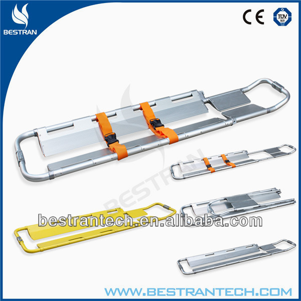 BT-TP001 hospital Medical aluminum scoop stretcher