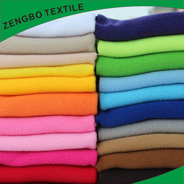 100% Polyester Micro fleece Anti-pilling polar fleece wholesale