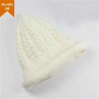 custom ear flap knitted women winter hat