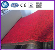 PVC coil mat carpet extrusion machine/ PVC car mat making machine/PVC double color mat making machine