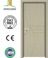 New 2015 China ZHEJIANG supplier interior mdf pvc door,high quality pvc wooden doors