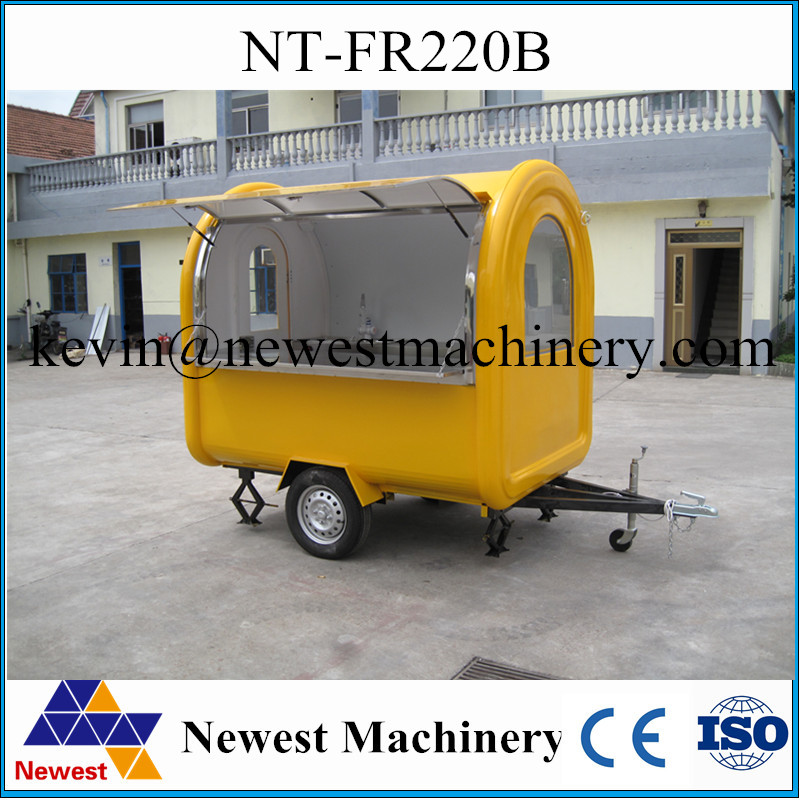 Factory price electric commercial food truck/commercial trucks and vans/coffee truck