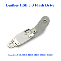 leather usb 3.0 thumb drive 64gb