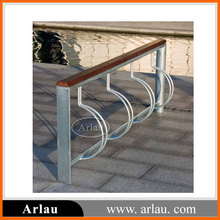 modern wrought iron bicycle display stand