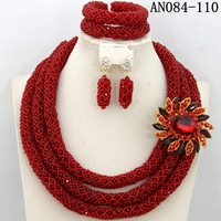 natural red coral beads wholesale beads jewelry sets for wedding