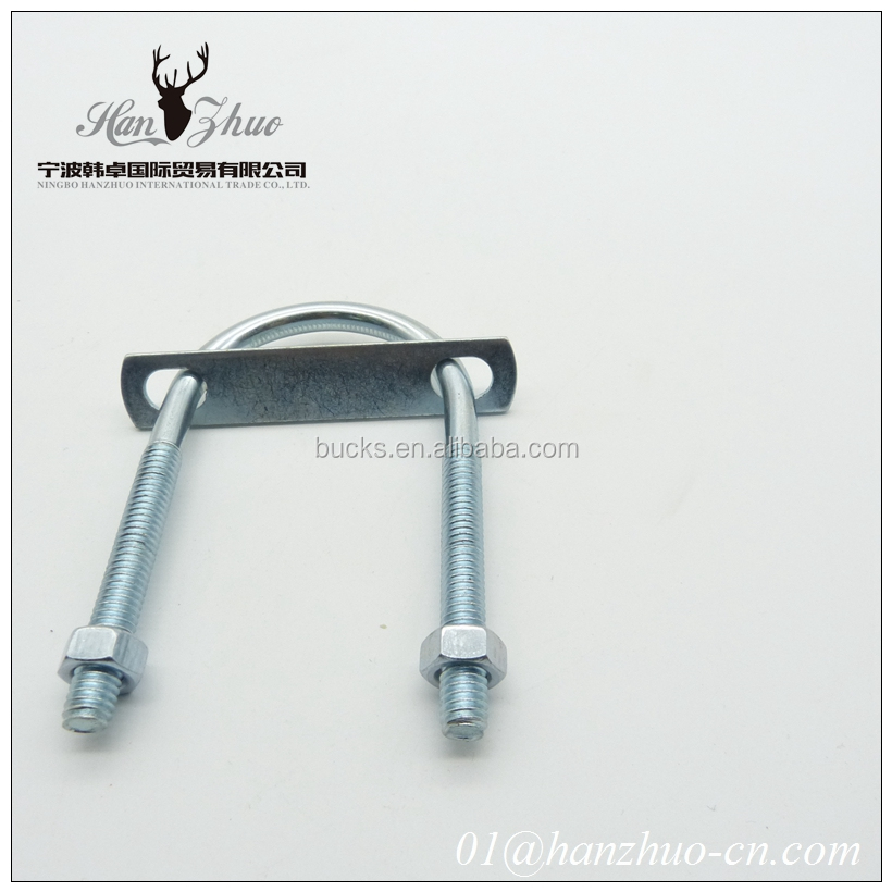 wholesale high quality cheap price Hook type bolt/L Anchor bolt/Carbon Steel Zinc Plated u bolt making machine