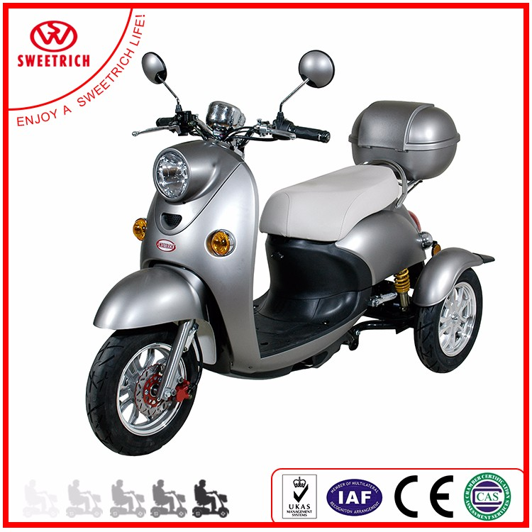 2017 500W Trade Assurance Factory Price Electric 3 Wheel Scooter Wholesale