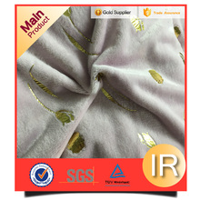 micro fiber polyster blanket suitable fabrics for pajamas