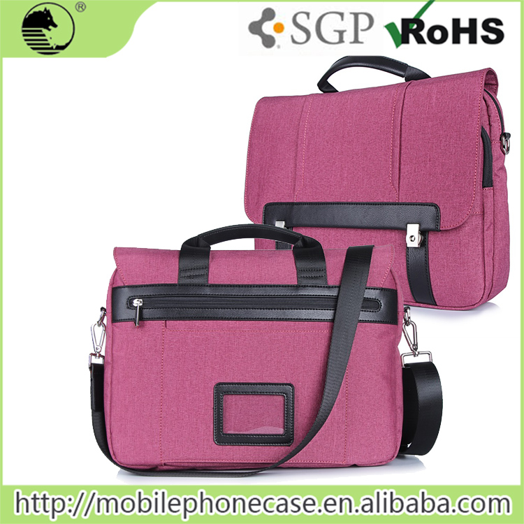 Pink custom leisure women bags shoulder bag