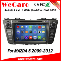"Wecaro Android 4.4.4 WC-MZ8005 8"" wifi 3g car multimedia system car dvd player for mazda 5 2009 2010 2011 2012"