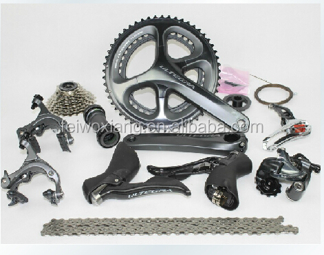 New Arrival Road bicycle groupset Ultegra 6800 with 170/172.5/175mm crank