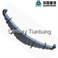 SINOTRUK HOWO RELIABLE AUTO PARTS FRONT LEAF SPRING WG9731520011