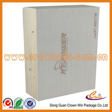 High end wooden box with embossing logo,wooden gift box,gift box design