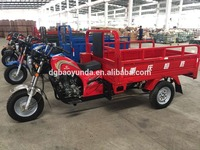 strong power gasoline tricycle cargo bike for business