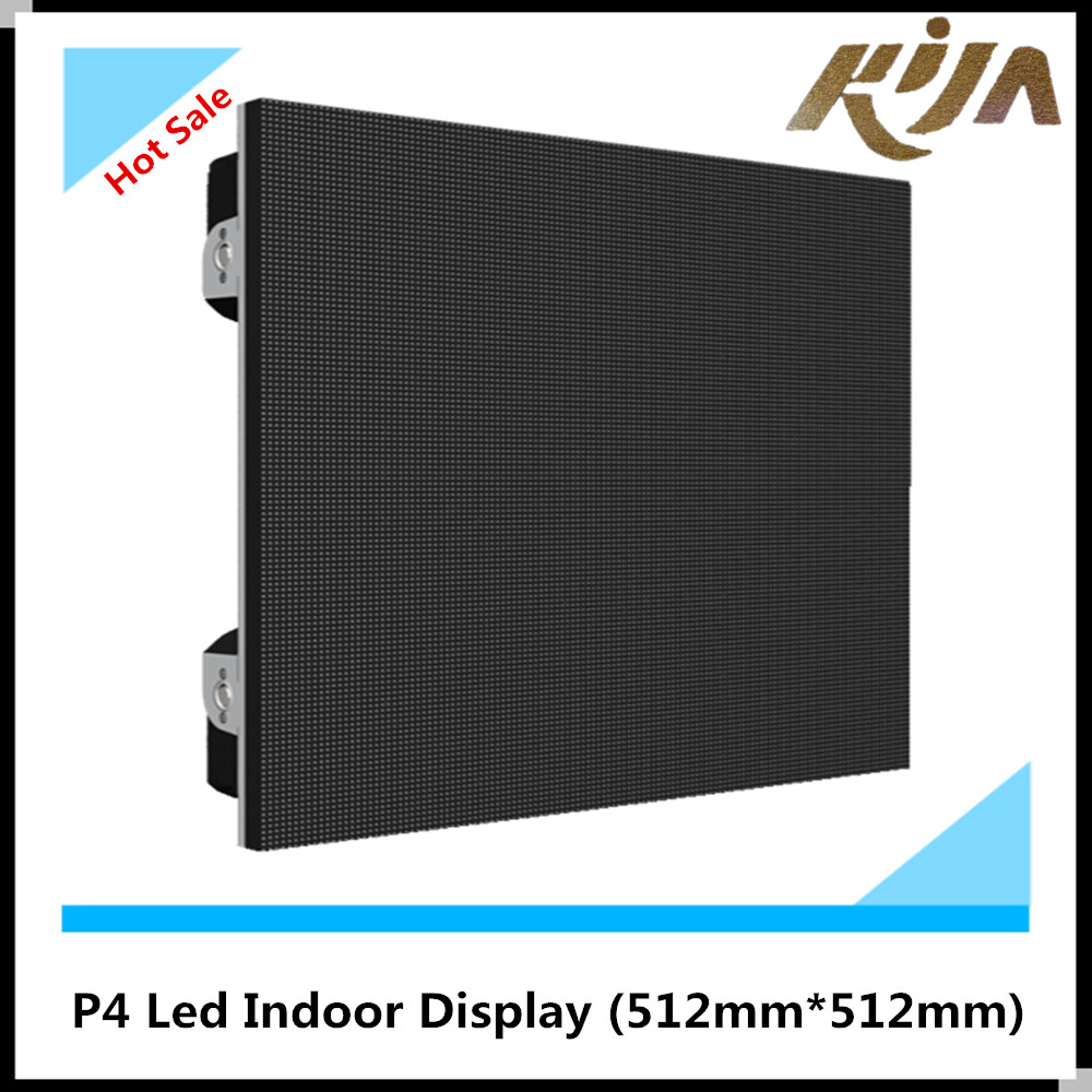 4mm indoor smd full color fixed advertising LED display screen P4