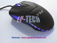 Whosale cheap 6D Optical LED mouse wired gaming mouse