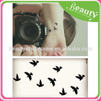arm beautiful wing & angel pattern temporary tattoo ,ADE002, art stickers