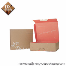 Kraft Paper Party Supplies Corrugated Cardboard Packaing Candy Gift Box for Valentine