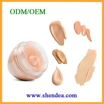 OEM ODM Conver Isolation Protection Whitening Nourishment Makeup Foundation CC Cream