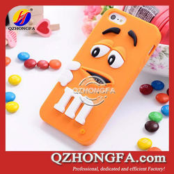 Newest Cute Rainbow Bean Silicone Case for iPhone 4 4S 5 with good smell