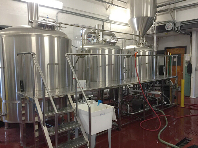 stainless steel brewing turnkey automatic beer brewing system
