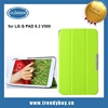 Stand leather flip cover case for LG G PAD 8.3 V500
